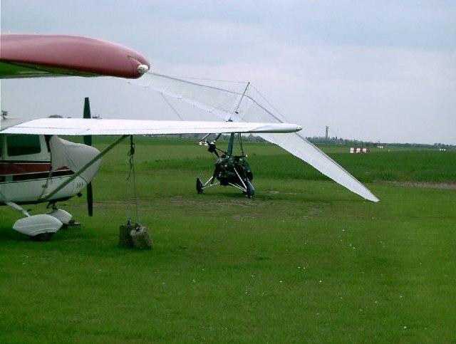 G-BYOV at Skegness (Ingoldmells) Aerodrome