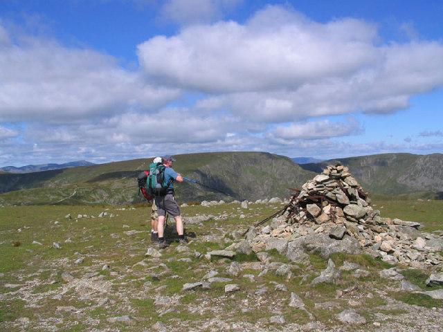 Harter Fell Summit Cairn