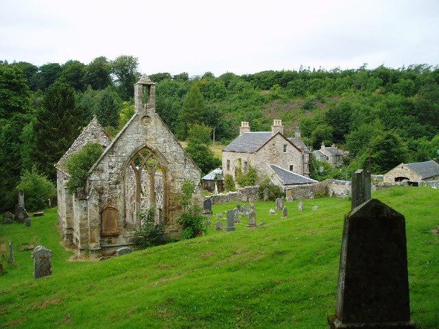 Temple Old parish Church, Midlothian