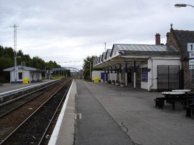 Dingwall Railway Station