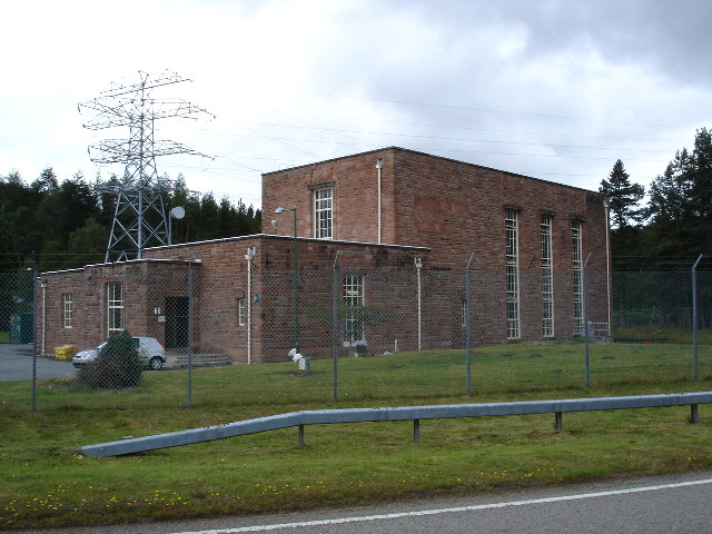 Grudie Bridge Power Station