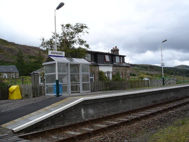 Achanalt Railway Station