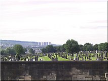 NS6363 : St. Peter's Cemetery by Roger May