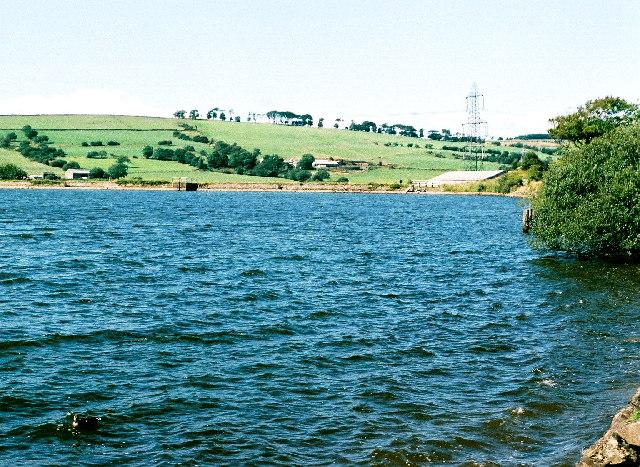 Rishton reservoir from Cutwood Park