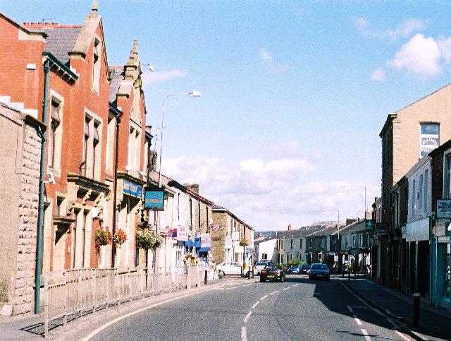 Rishton -the main road