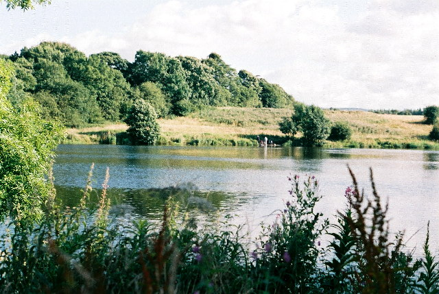 Angling lake at Rishton