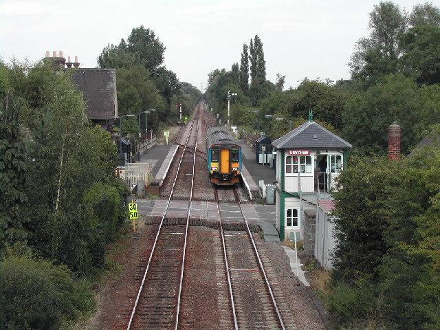 Lowdham Railway Station