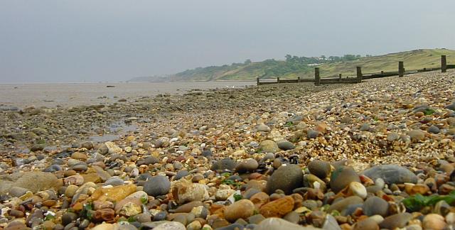 Low view of the beach, Minster-in-Sheppey