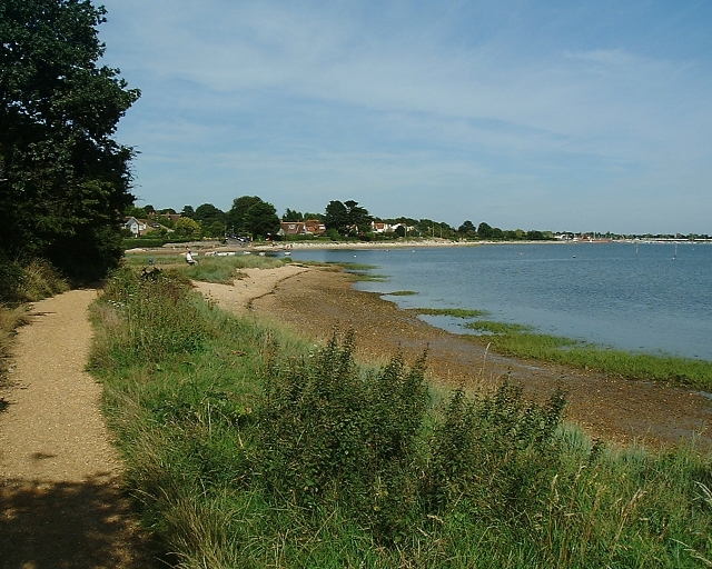 Looking back towards Emsworth