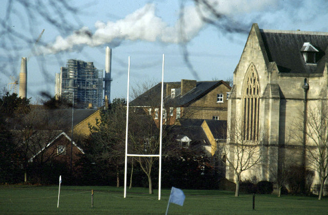 Rugby School and Cement Works