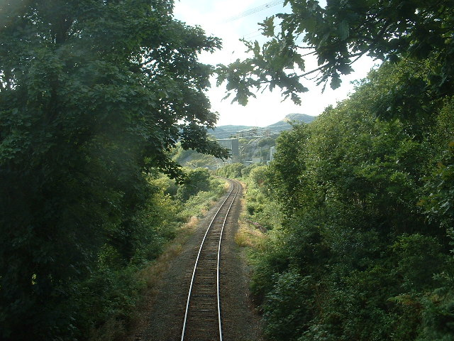 Cambrian Coast Railway, near Penrhyndeudraeth