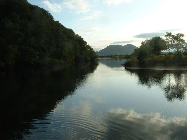 Afon Glaslyn, near Penrhyndeudraeth