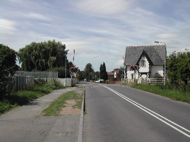 Level Crossing on Stoke Lane