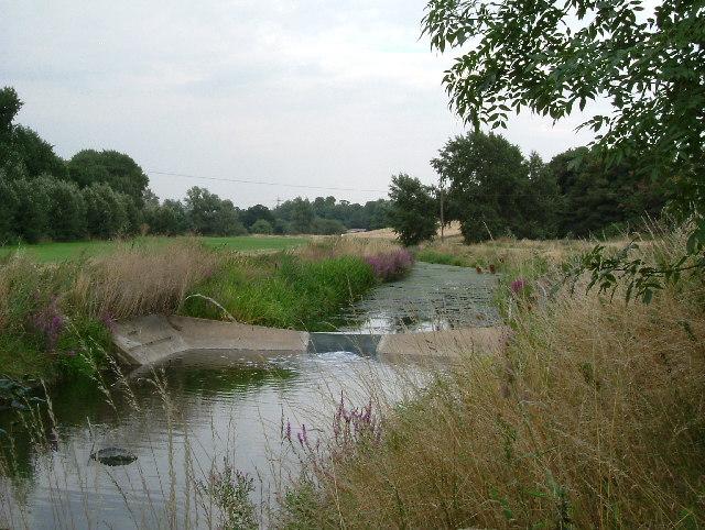 Weir On The River Mardike