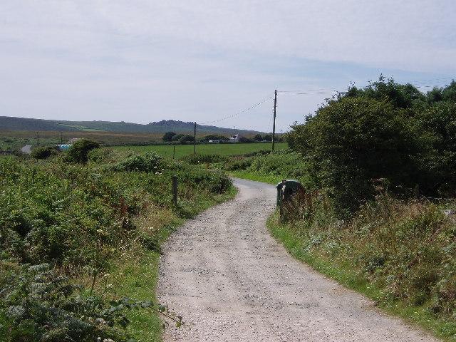 Lane from Higher Kerrowe