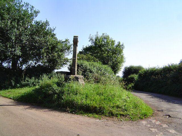 Luscombe Cross - near Totnes