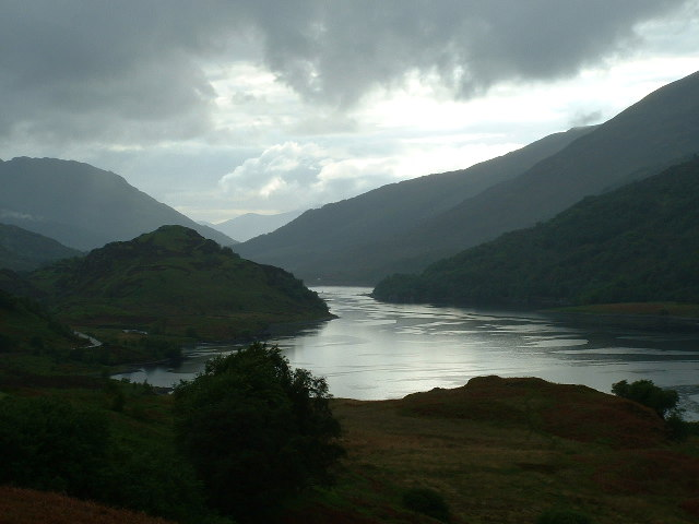 South Side of Loch Leven Looking West