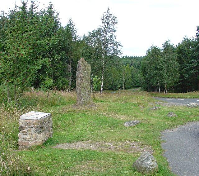 Birse Millennium Stone, Corsedardar Hill