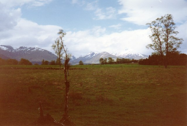Grey Corries from Insh
