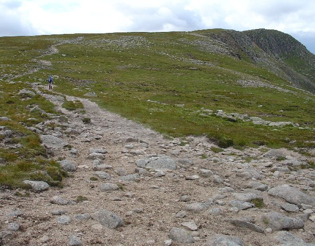 Path between Lochnagar and The Stuic