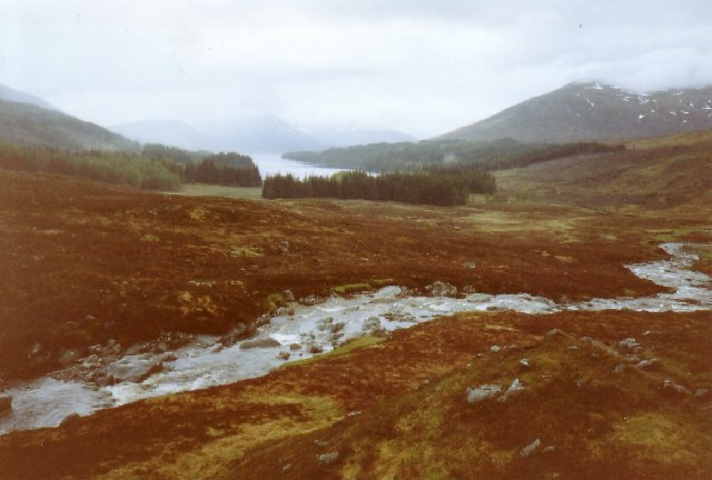 Uisge Labhair and Loch Ossian