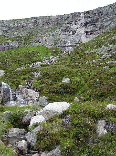 Waterfall on Allt a' Choire Bhoidheath