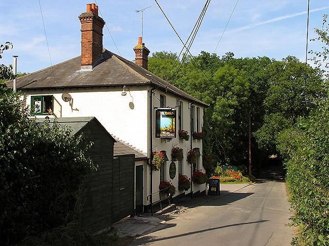 Road between Ashmore Green and Newbury