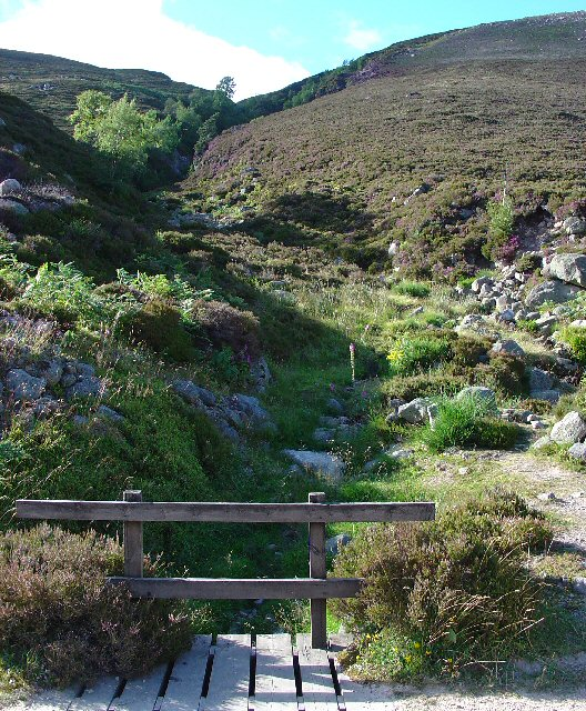 Allt an Dearg - Mountain stream feeding Loch Muick