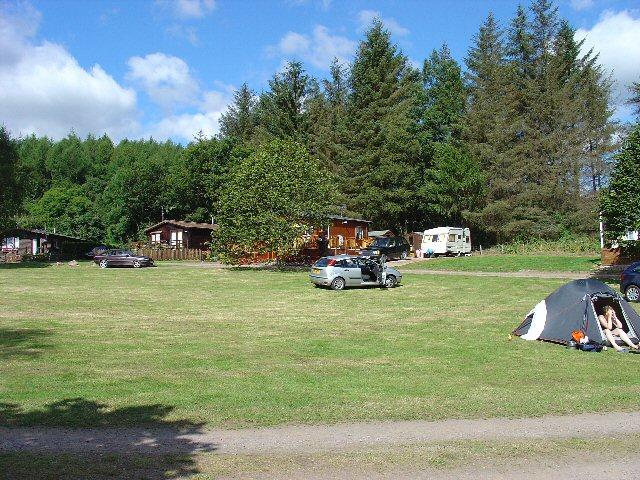 Craigielands Country Park Camp Site