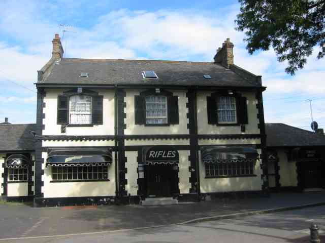 Rifles Pub at Enfield  Island Village