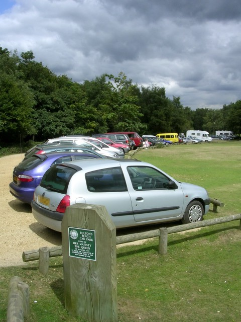 Bolton's Bench car park, Lyndhurst, New Forest