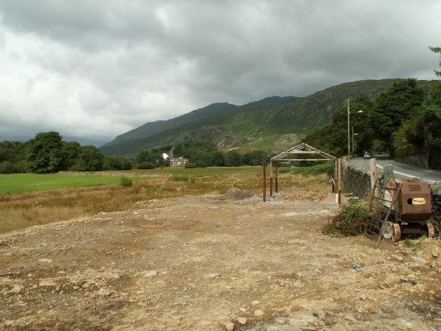 A5, Near Capel Curig