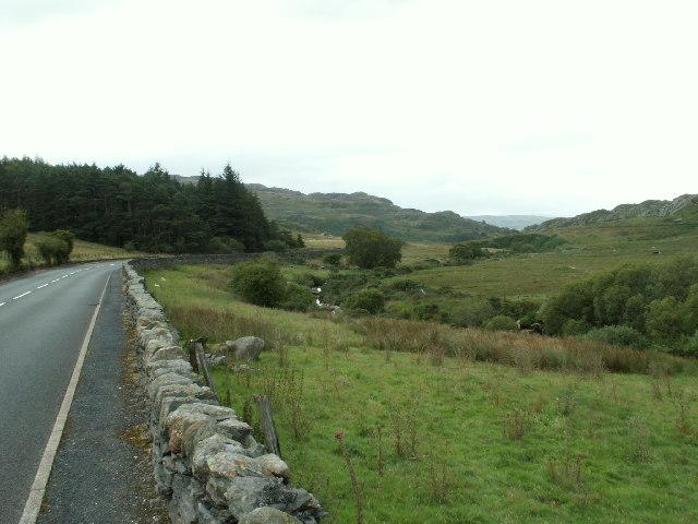 Afon Llugwy and A5