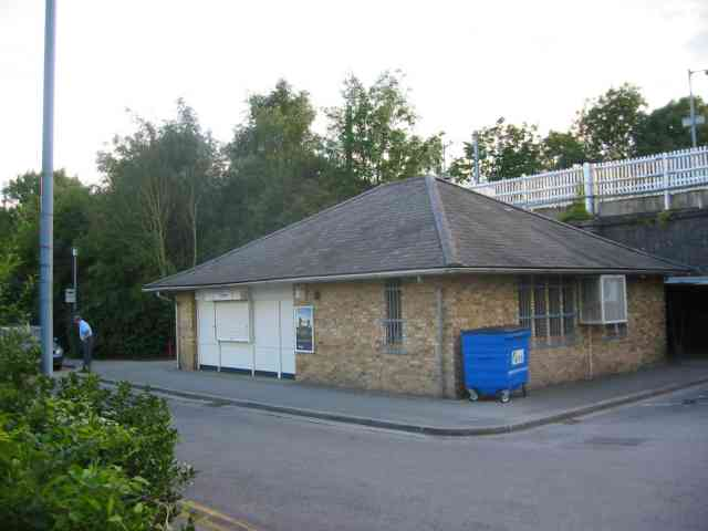 The station at Cuffley