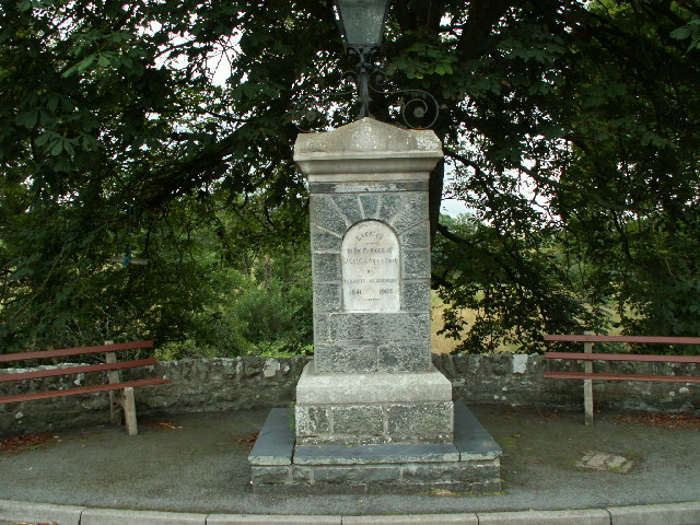 Memorial to C A Wynne Finch