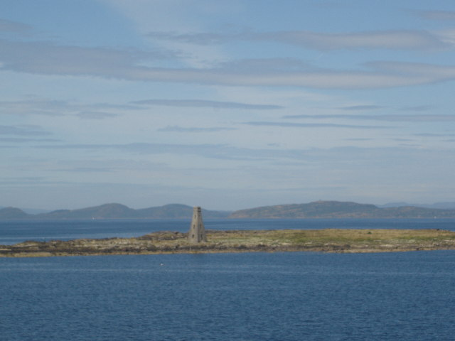 Horse Island near Ardrossan Firth of Clyde