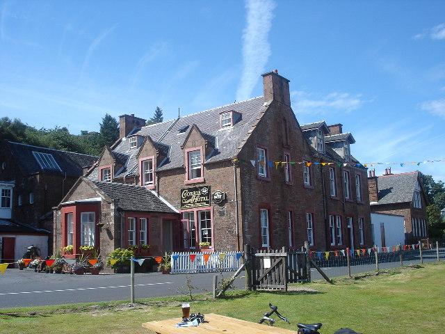 Corrie Hotel ,Isle of Arran