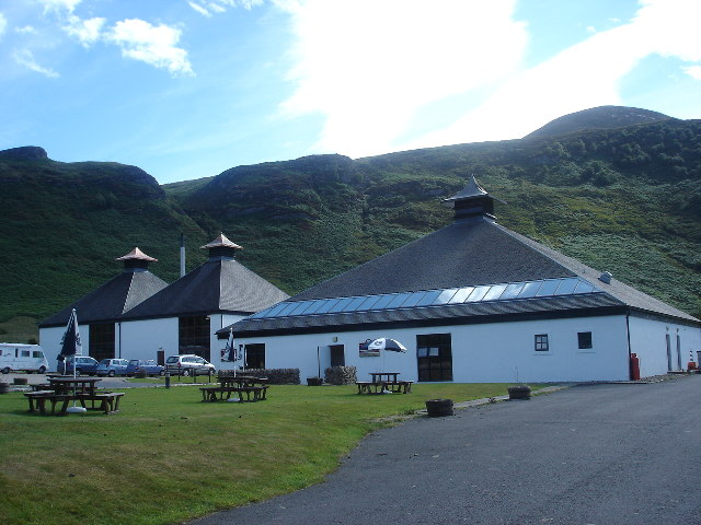 Lochranza Distillery, Isle of Arran