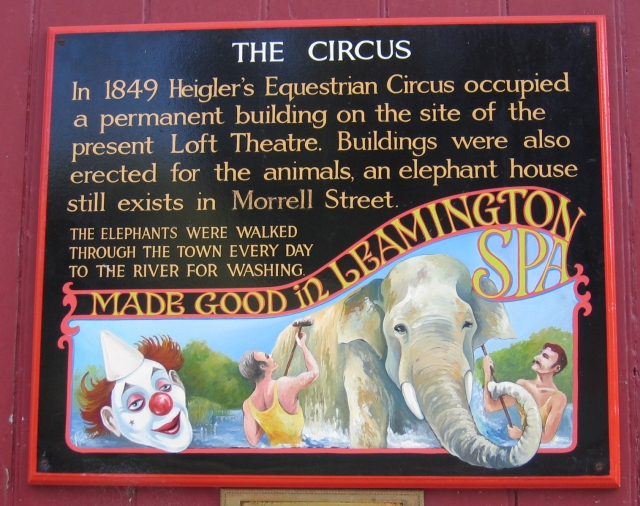 Sign on Elephant House door