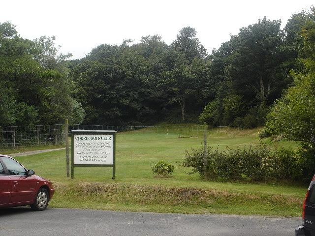 Corrie Golf Course, Isle of Arran