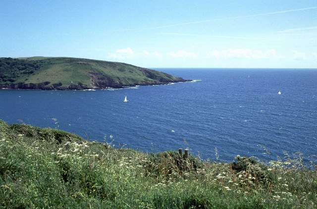 Wembury Bay and the mouth of the Yealm