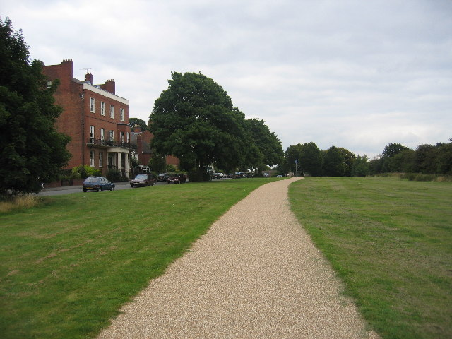 The Centenary Way, Newbold Terrace East
