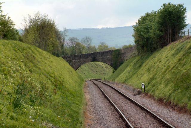 Bridge over West Somerset Railway near Halscombe House