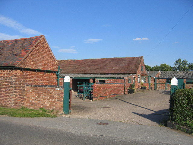 Hill Farm outbuildings.