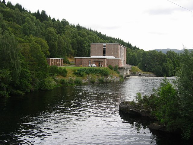 Luichart Power Station