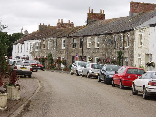 Main street Gwinear