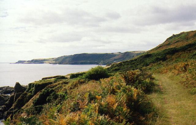 Stokenham: South West Coast Path near Lannacombe