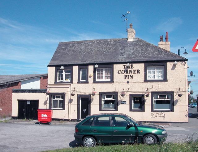 Corner Pin Saltney
