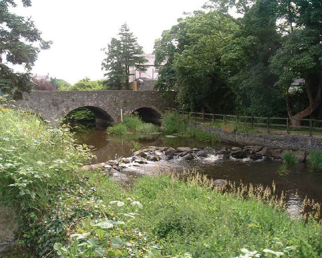 Bridge over the River Lagan at Dromore, Co. Down