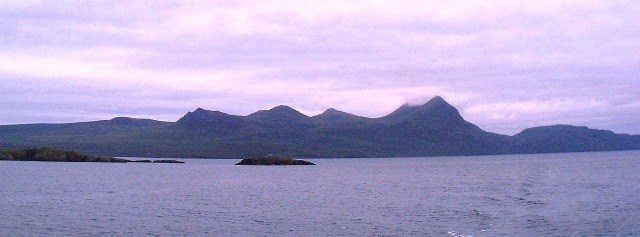 Coigach from Loch Broom